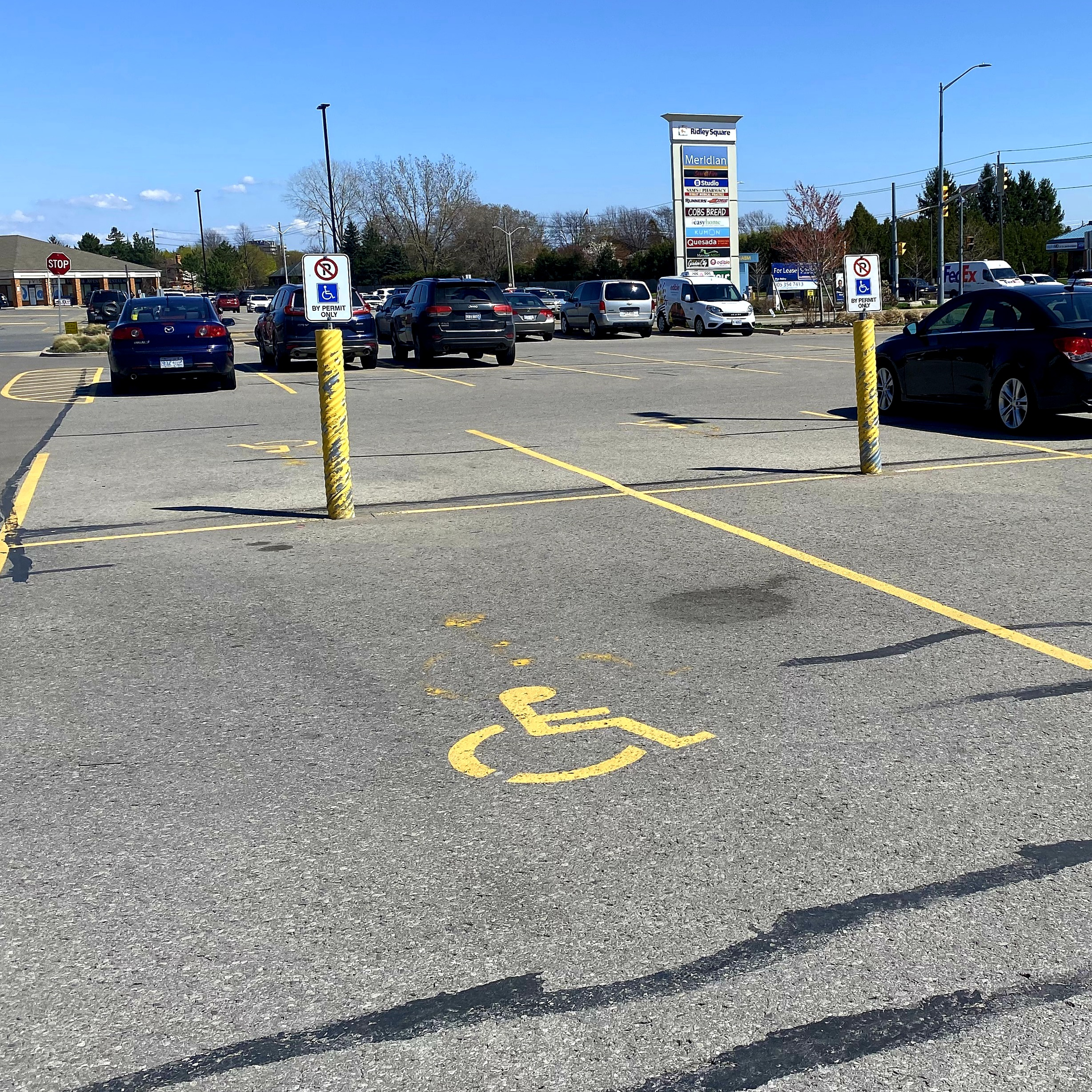 St. Catharines accessible parking