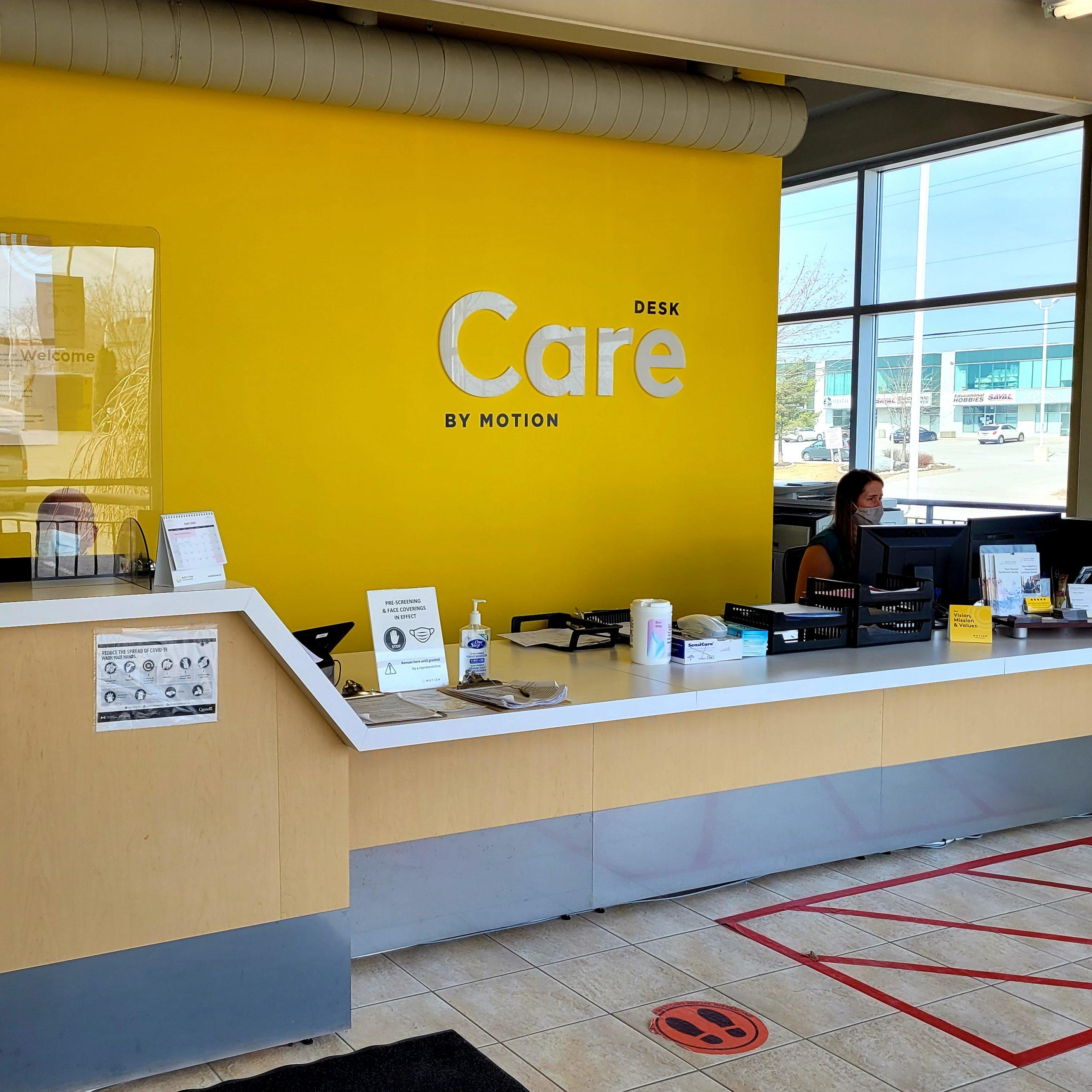 Barrie Care desk