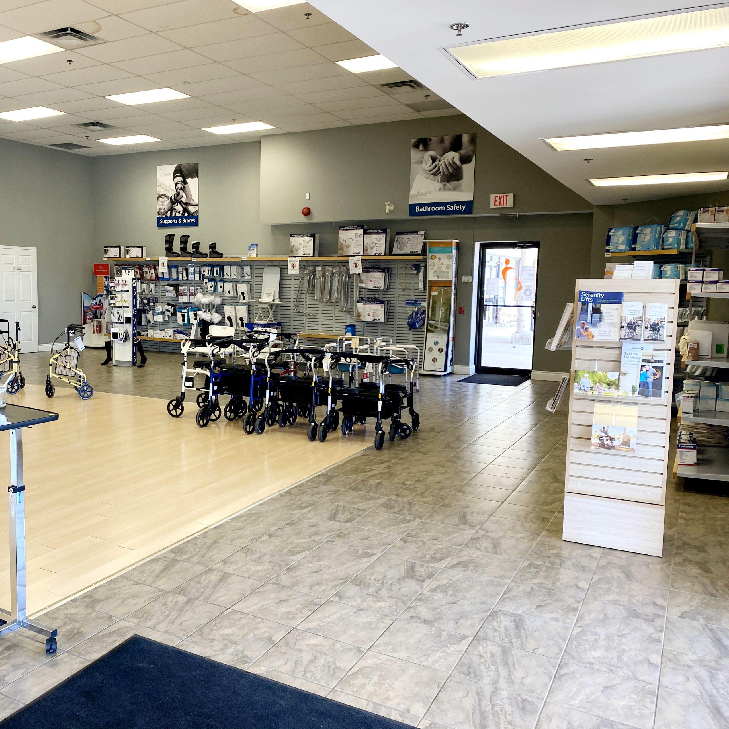 St. Catharines showroom