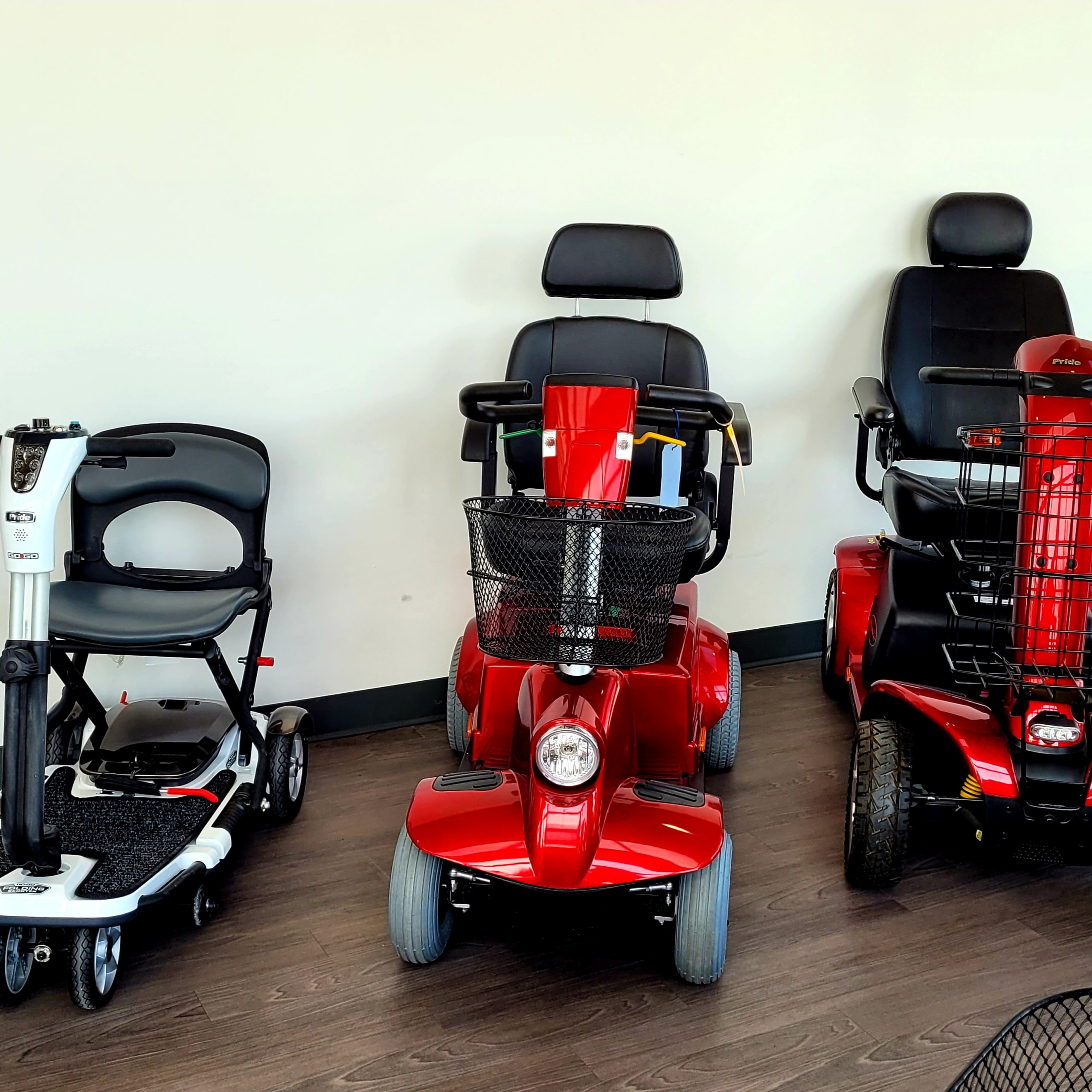 Barrie showroom - mobility scooters
