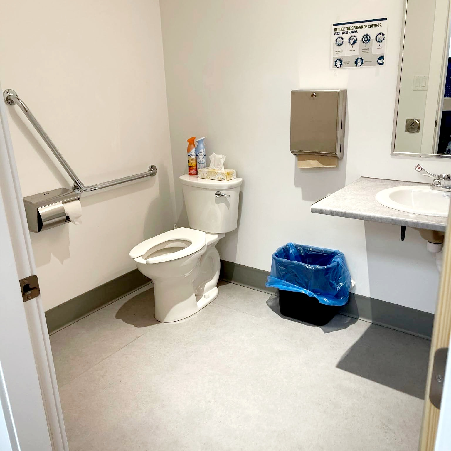 Comox accessible washroom
