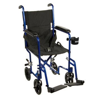 17″ Aluminum Transport Chair