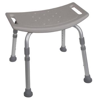 Deluxe, Aluminum Bath Seat w/o Back
