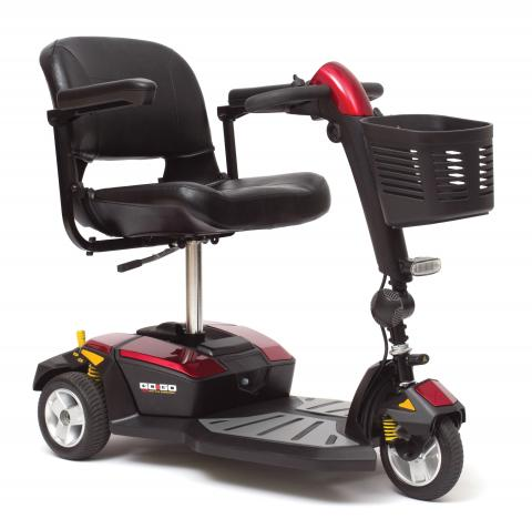 Go-Go LX Three and Four Wheel Scooter