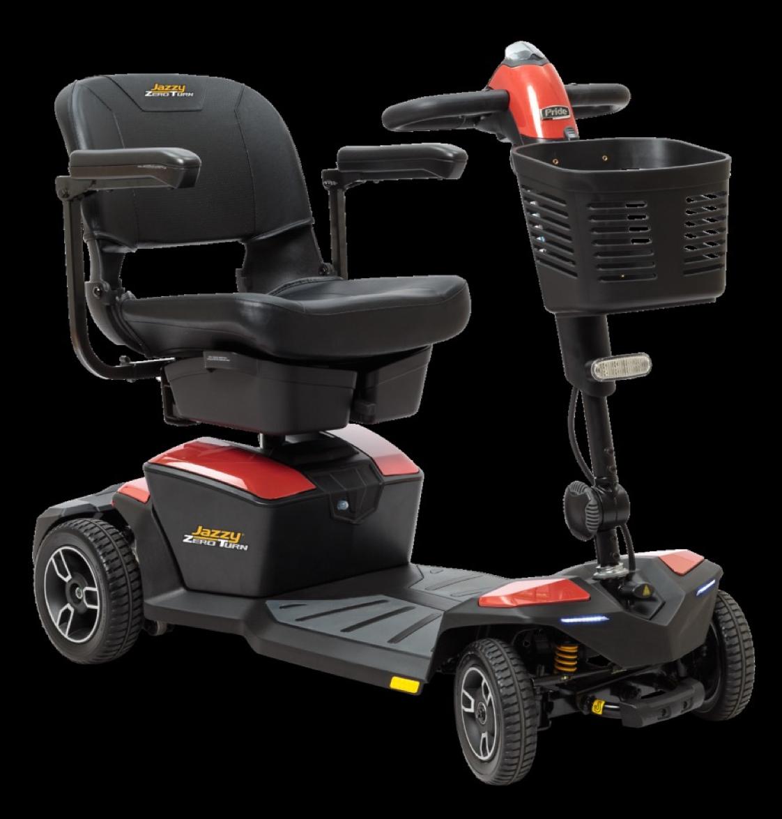 Jazzy® Zero Turn 4-Wheel