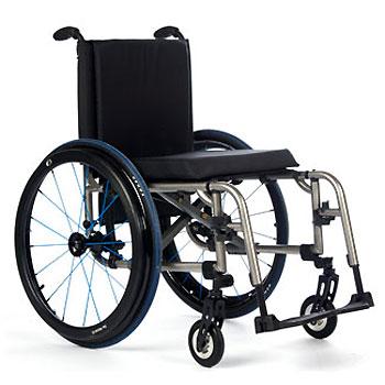 TiLite 2GX Titanium Wheelchair