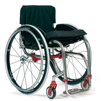 TiLite TR Titanium Wheelchair