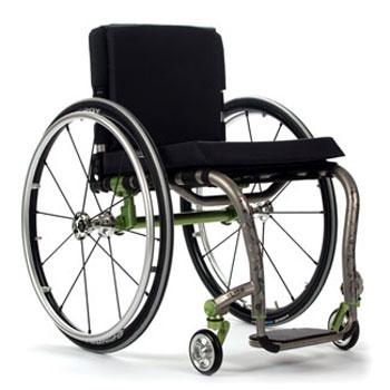 TiLite ZRA Titanium Wheelchair