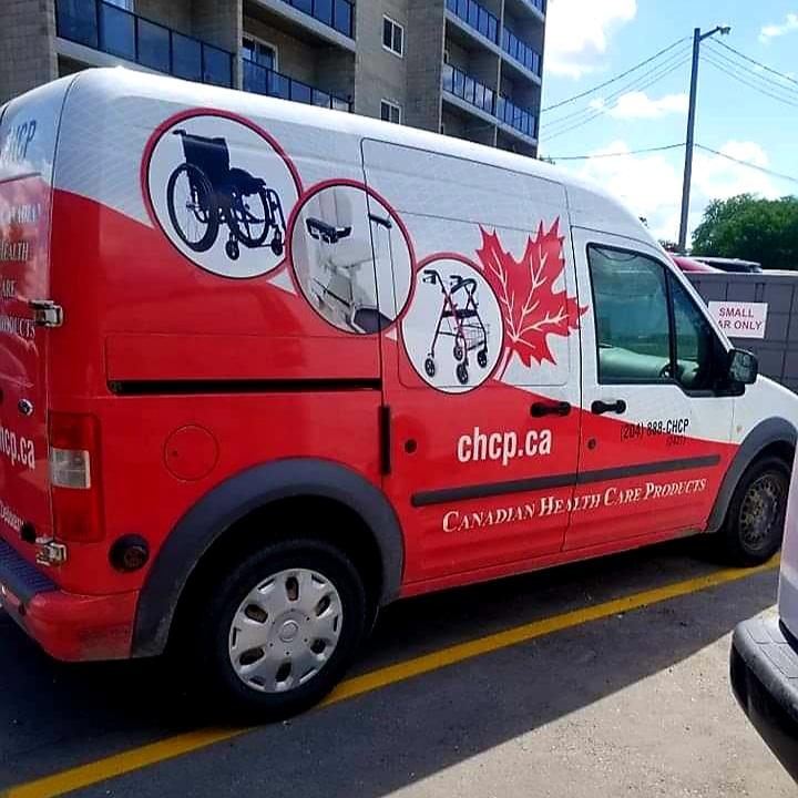 CHCP van parked